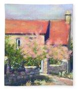 French Cottage Fleece Blanket