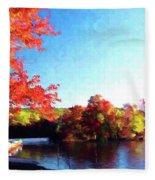 French Creek Fall 94-020 Fleece Blanket