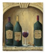French Estate Wine Collection Fleece Blanket
