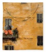 French Laundry Fleece Blanket