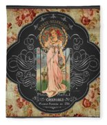 French Perfume-jp3737 Fleece Blanket
