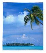 French Polynesia, Bora Bo Fleece Blanket