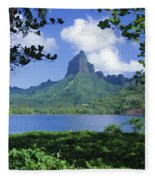 French Polynesia, Moorea Fleece Blanket