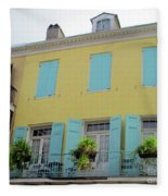 French Quarter 20 Fleece Blanket