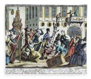 French Revolution, 1789 Fleece Blanket