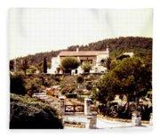 French Riviera 1955 Fleece Blanket