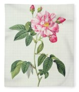 French Rose Fleece Blanket