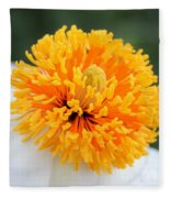 Frenzy Of Stamens Fleece Blanket