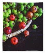 Fresh Figs Fleece Blanket