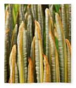 Fresh Fronds Fleece Blanket