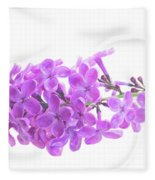 Fresh Lilac Fleece Blanket