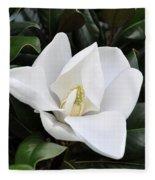 Fresh Magnolia Fleece Blanket