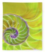 Fresh Spiral Fleece Blanket
