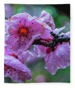 Fresh Spring Rain Fleece Blanket