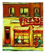 Fressers Takeout Deli Fleece Blanket
