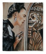Frida Catrina Fleece Blanket