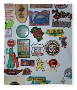 Fridge Magnets Fleece Blanket
