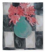Friendly Flowers Fleece Blanket