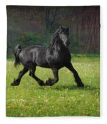 Friesian Power Fleece Blanket