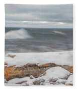 Frigid Waves Fleece Blanket