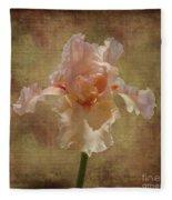 Frilly Iris Fleece Blanket