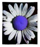 Fringe - Blue Flower Fleece Blanket