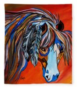Frisco War Horse Fleece Blanket
