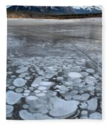 From Bubbles To Mountains Fleece Blanket