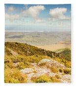 From Mountains To Seas Fleece Blanket