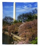 From The Basin To The Monument Fleece Blanket