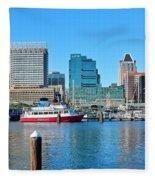 From The Dock Fleece Blanket