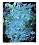 From The Glory Of Trees Abstract Fleece Blanket