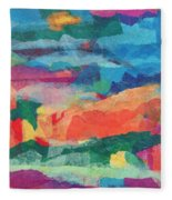 From The Oasis Fleece Blanket