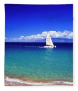 Maui Hawaii Frommer's 2000 Maui Cover Fleece Blanket