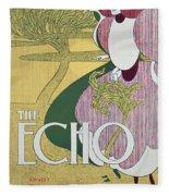 Front Cover Of The Echo Fleece Blanket