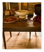 Frontier Meal Fleece Blanket