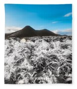 Frosted Over Hinterland Fleece Blanket