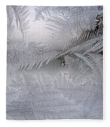 Frosted Pane Fleece Blanket