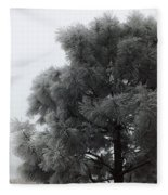 Frosted Pine Fleece Blanket