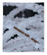Frosted Twigs Fleece Blanket