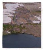 Frosty Lake Fleece Blanket