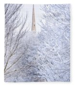 Frosty Morning Fleece Blanket