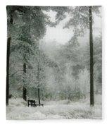 Frosty Paradise Fleece Blanket