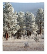 Frosty Pikes National Forest Fleece Blanket