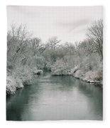Frosty River Fleece Blanket
