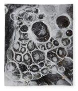 Frozen Bubbles Fleece Blanket