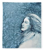 Frozen Dreams Fleece Blanket