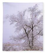 Frozen Ground Fleece Blanket