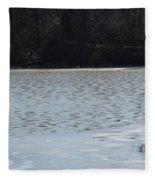 Frozen Lake 2 Fleece Blanket