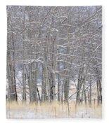 Frozen Limbs Fleece Blanket